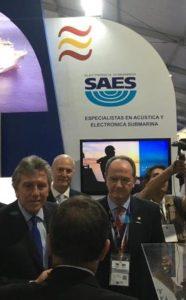 SAES en Exponaval 2018