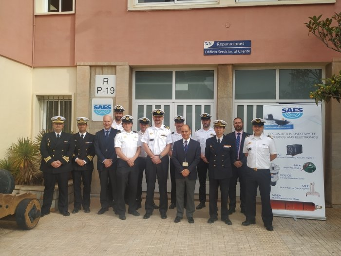 The Royal Norwegian Navy visits SAES