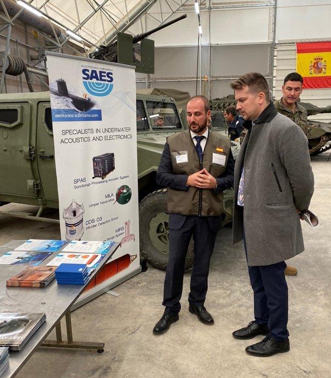 SAES en la bilateral de Letonia