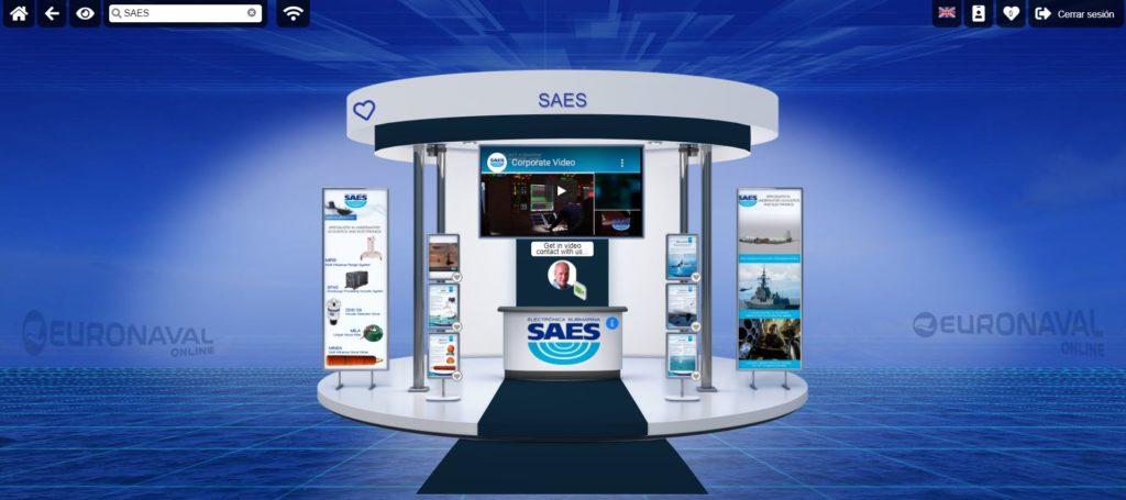 SAES participa en Euronaval 2020 online